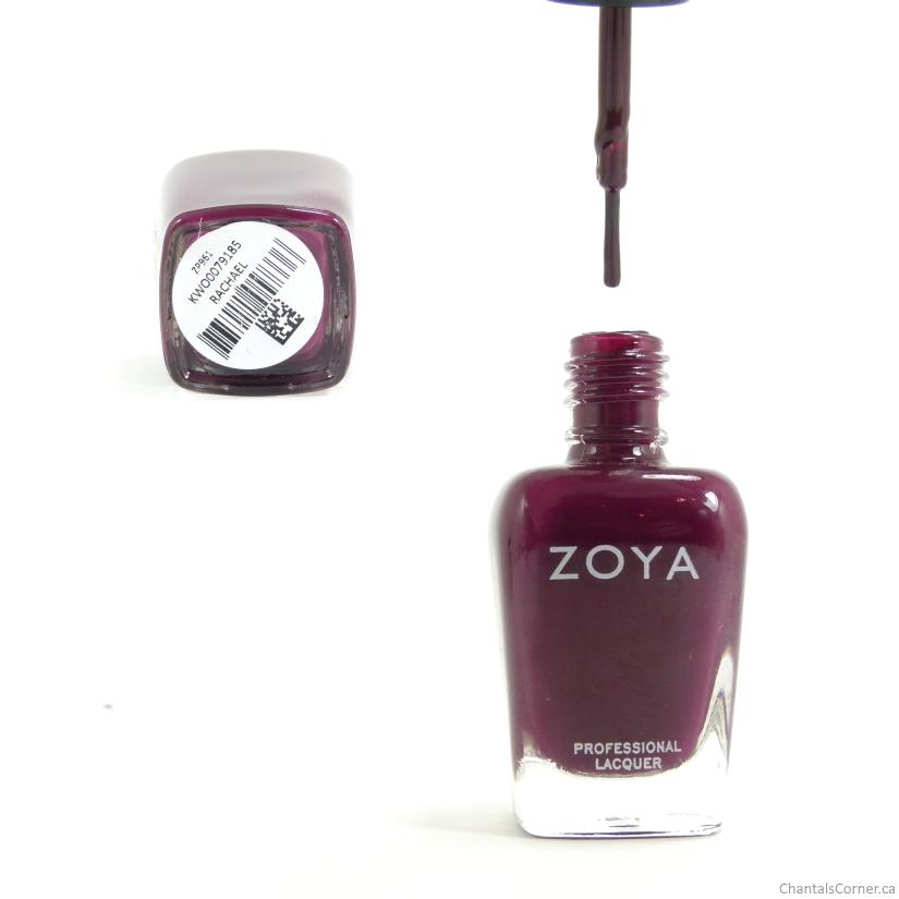 Zoya Nail Polish Rachael bottle and brush