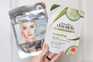 body drench and satin smooth sheet masks