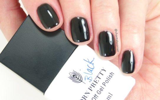 Born Pretty Store Black Soak Off Gel Nail Polish