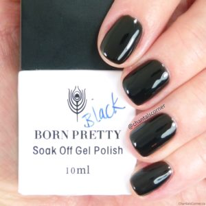Born Pretty Store Black Soak Off Gel Nail Polish