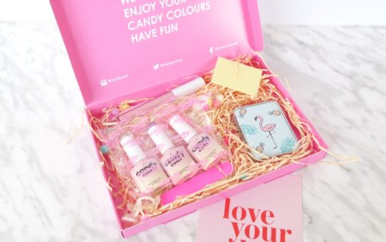 Candy Coat Gel Polish Monthly Subscription February 2019