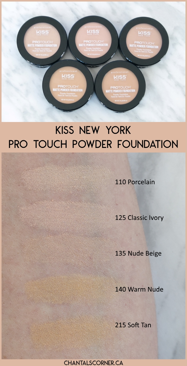Kiss New York Pro Touch Matte Powder Foundation