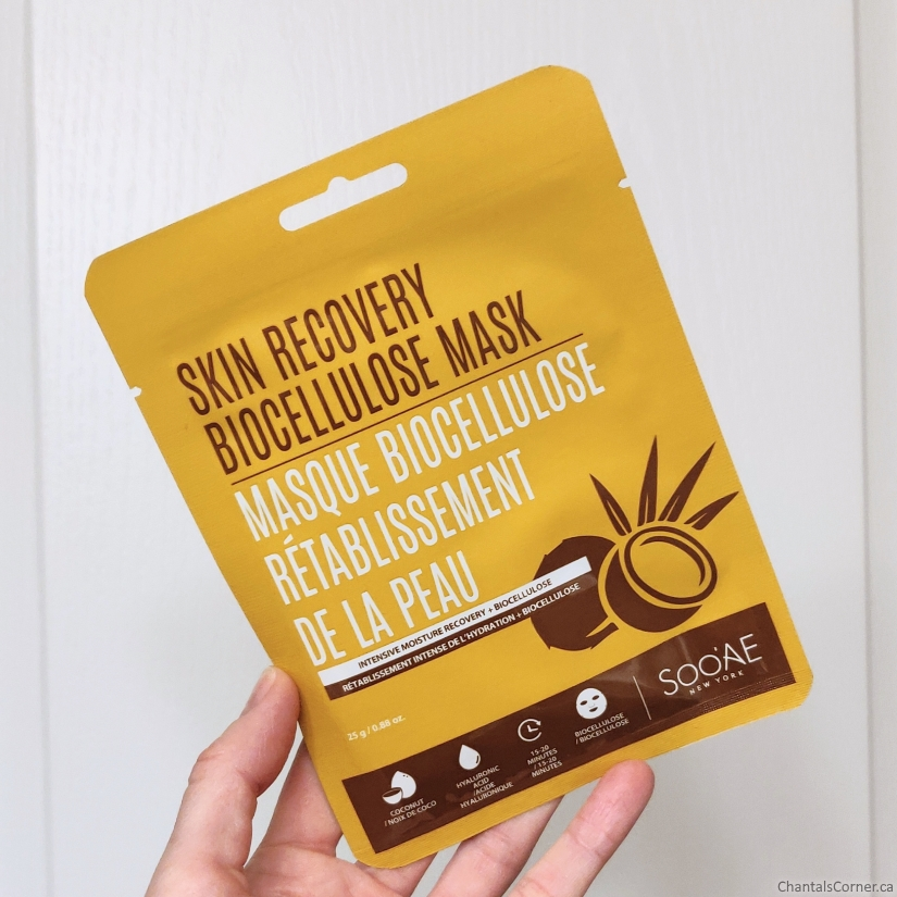 soo'ae Skin Recovery Biocellulose Mask sheet