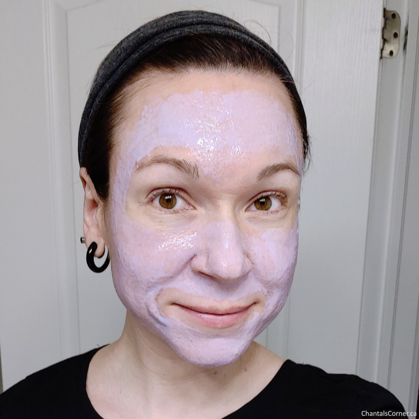 Aveeno Absolutely Ageless Pre-Tox Peel Off Mask selfie