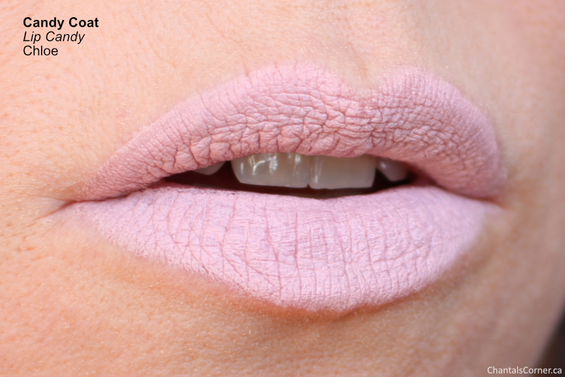 Candy Coat Lip Candy Chloe lip swatch