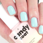 Candy Coat gel nail polish 228 light creme turquoise