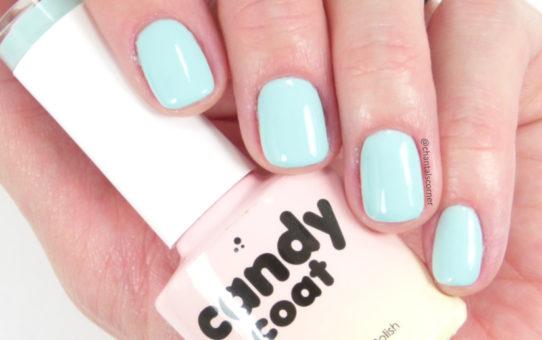 Candy Coat gel nail polish 228 light creme turquoise