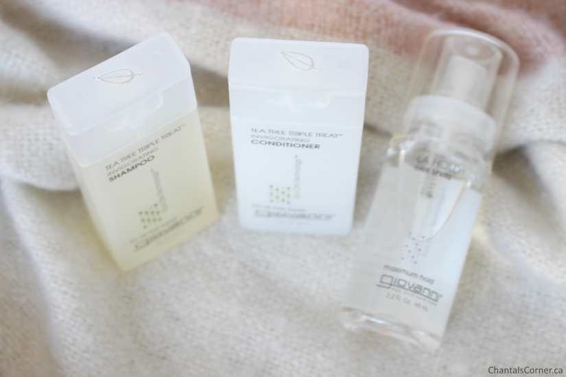 Giovanni Tea Trea Triple Treat Shampoo Conditioner La Hold Hair Spritz