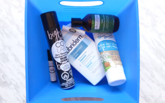 Monthly Empties April 2019