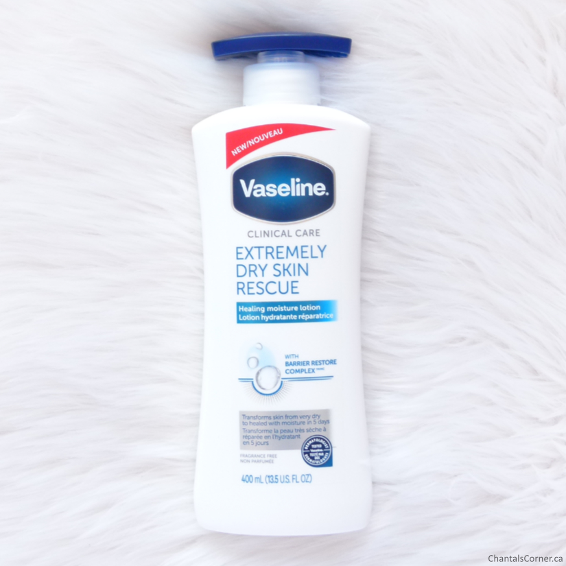 Vaseline Clinical Care Extremely Dry Skin Rescue Lotion