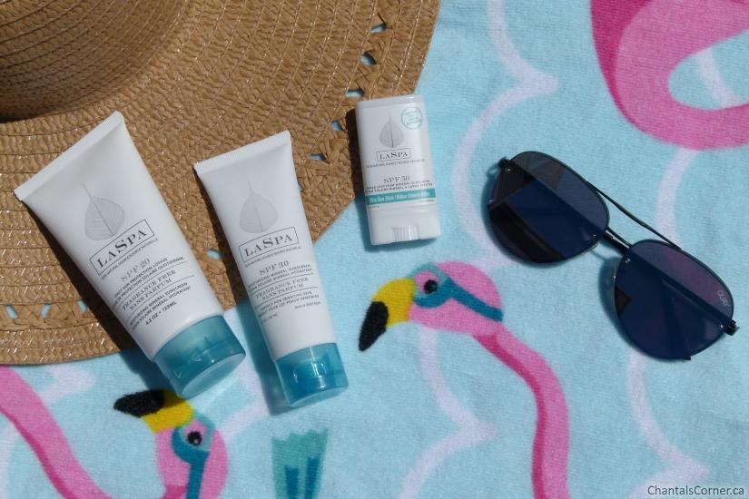 LASPA natural mineral sunscreens