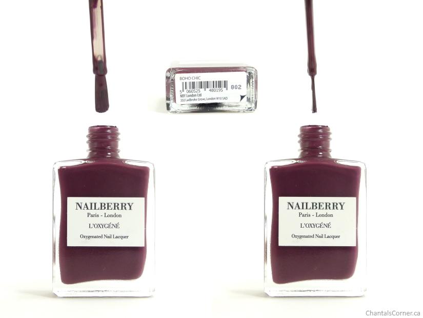 Nailberry nail polish Boho Chic bottle