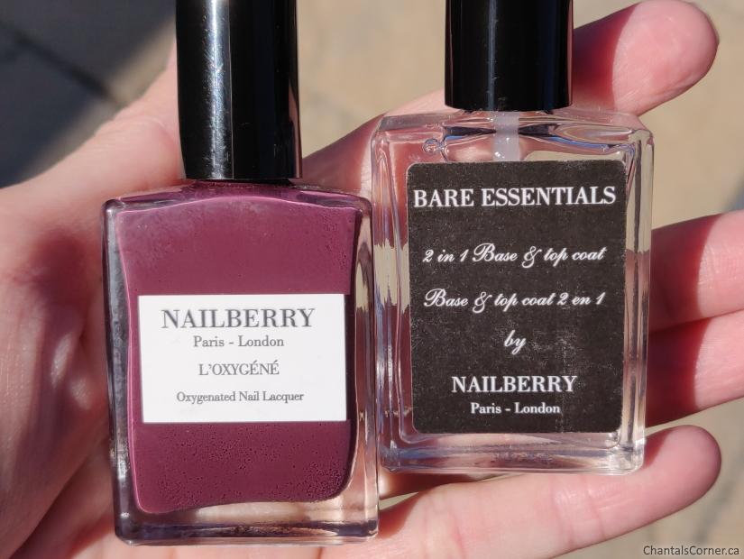Nailberry nail polish Boho Chic bottles
