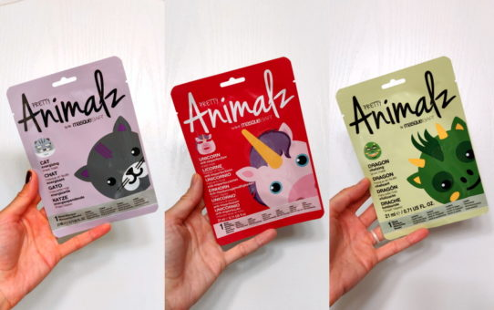 MasqueBAR Pretty Animalz Sheet Mask cat unicorn dragon