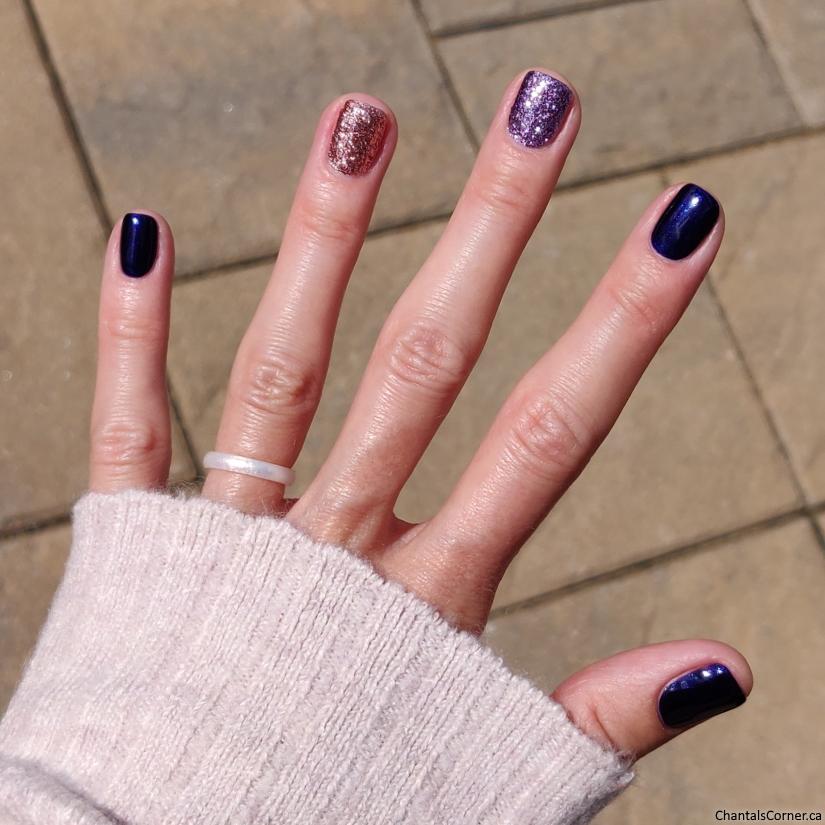 mixed mani nail polish milani peripera ciate london