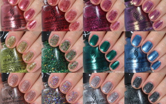 China Glaze Sesame Street 50th Anniversary Nail Polish Collection collage