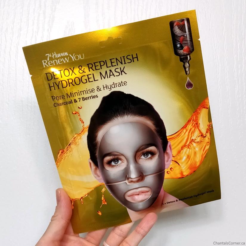 7th heaven renew you Detox & Replenish Hydrogel Mask