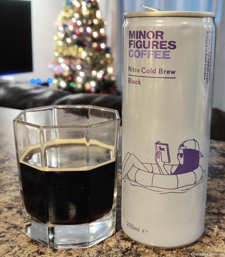 Minor Figures Nitro Cold Brew Coffee Black colour