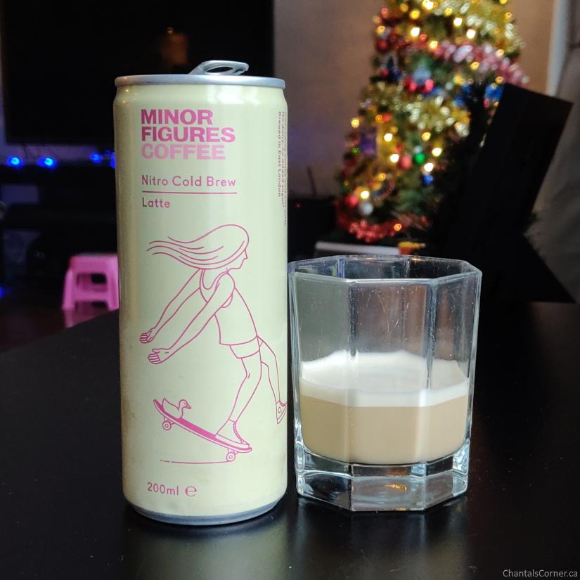 Minor Figures Nitro Cold Brew Coffee Latte colour