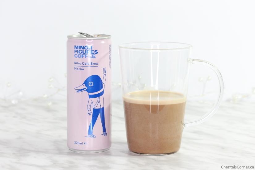 Minor Figures Nitro Cold Brew Coffee Mocha colour