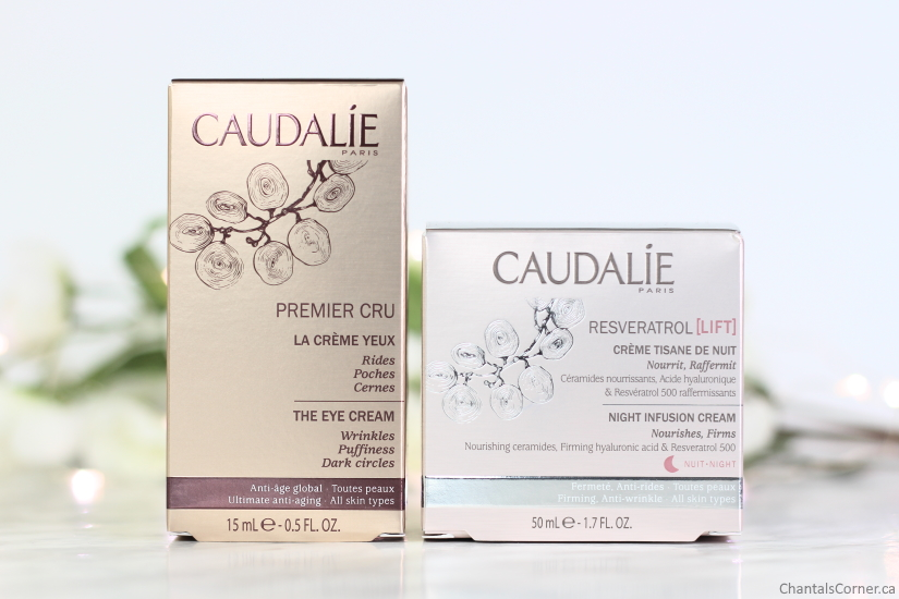 Caudalie Paris Products Review From Premier Cru And Resveratrol Lift