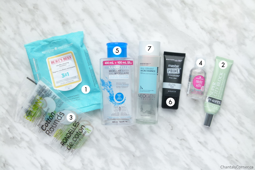 monthly empties january 2020 face products