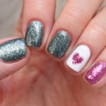 valentines day nail art china glaze sesame street