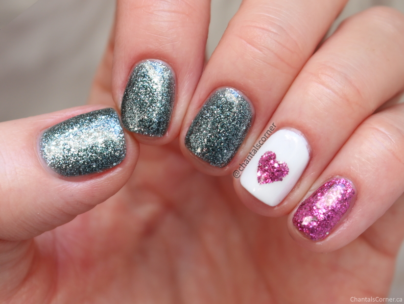 valentines day nail art china glaze sesame street