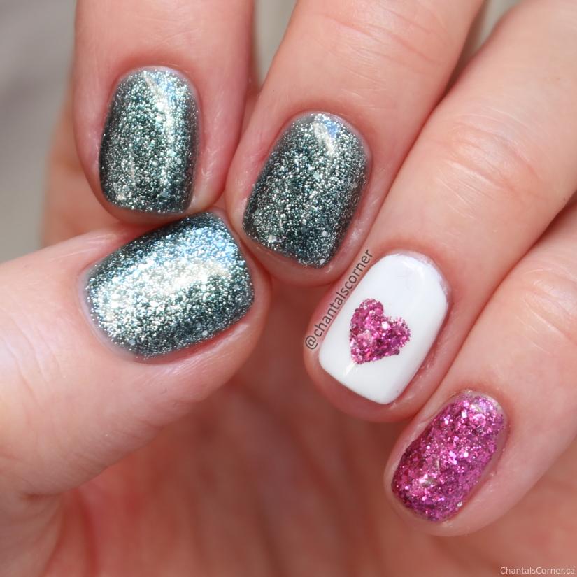 valentine's day nail art china glaze sesame street